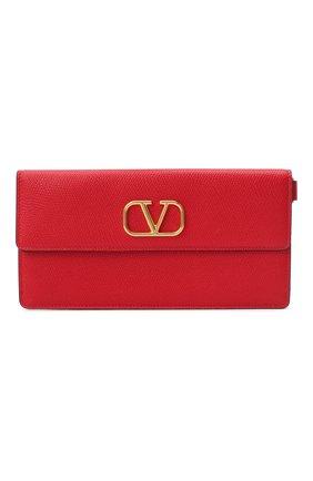 Женские кошелек valentino garavani на цепочке VALENTINO красного цвета, арт. UW2P0T33/SNP | Фото 1