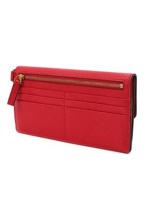Женские кошелек valentino garavani на цепочке VALENTINO красного цвета, арт. UW2P0T33/SNP | Фото 2