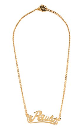 Женское колье loewe x paula's ibiza LOEWE золотого цвета, арт. 110.10.048 | Фото 1