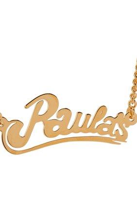 Женское колье loewe x paula's ibiza LOEWE золотого цвета, арт. 110.10.048 | Фото 2