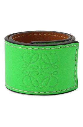 Женский браслет loewe x paula's ibiza LOEWE зеленого цвета, арт. 110.10.072 | Фото 1