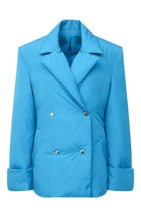Женский пуховая куртка KHRISJOY бирюзового цвета, арт. BFPW026/NY | Фото 1