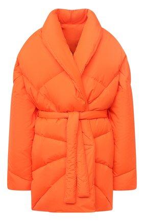 Женский пуховик KHRISJOY оранжевого цвета, арт. BFPW037/NY | Фото 1