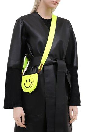 Женская сумка smiley loewe x paula's ibiza LOEWE желтого цвета, арт. C661T14X05   Фото 2