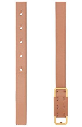 Женский кожаный ремень LORO PIANA коричневого цвета, арт. FAL2518   Фото 2