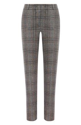 Женские кашемировые брюки LORO PIANA серого цвета, арт. FAL4174 | Фото 1
