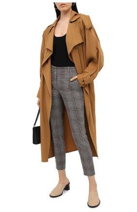 Женские кашемировые брюки LORO PIANA серого цвета, арт. FAL4174 | Фото 2