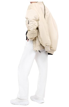 Женские кожаные кроссовки court trainer ALEXANDER MCQUEEN белого цвета, арт. 633915/WHZ94 | Фото 2