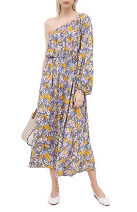 Женское хлопковое платье PEFORGIRLS разноцветного цвета, арт. PE.100.2012.07.16223.199 | Фото 2