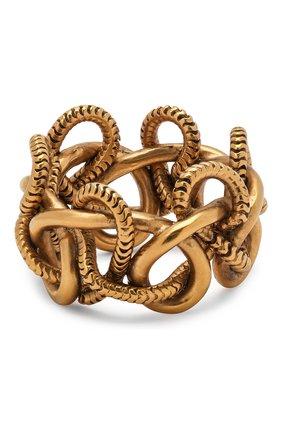 Женское кольцо SAINT LAURENT золотого цвета, арт. 633024/Y1500 | Фото 2
