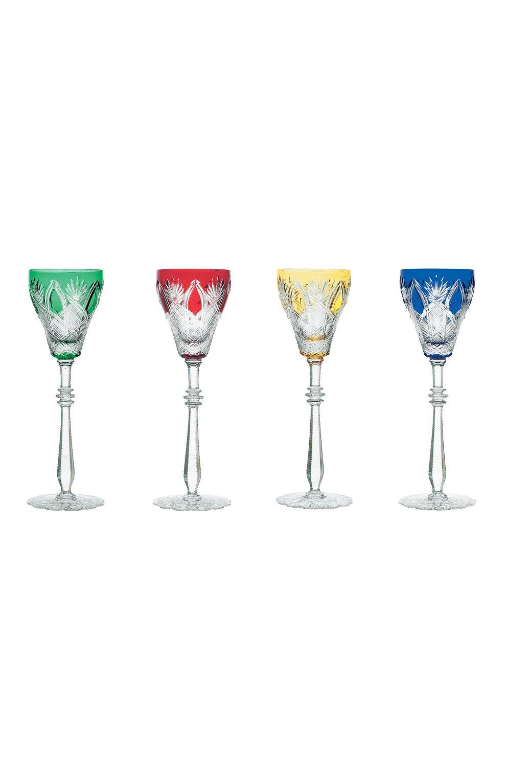 Мужского набор из 4-х фужеров для вина царь FABERGE разноцветного цвета, арт. 507014   Фото 1