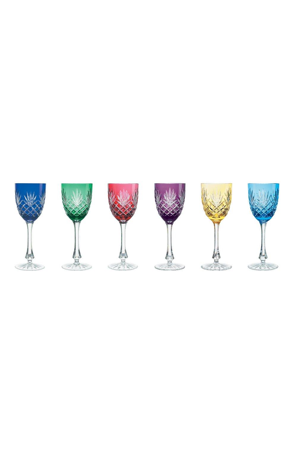 Мужского набор из 6-ти фужеров для  красного вина odessa FABERGE разноцветного цвета, арт. 527016   Фото 1