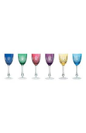 Мужского набор из 6-ти фужеров для  красного вина odessa FABERGE разноцветного цвета, арт. 527016 | Фото 1