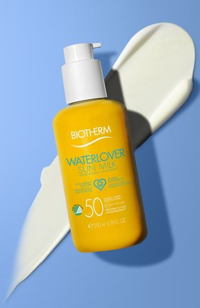 Женский солнцезащитное молочко для лица и тела waterlover sun milk spf 50 BIOTHERM бесцветного цвета, арт. 3614271701510 | Фото 2