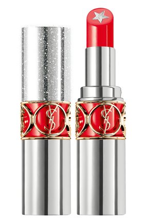 Женская губная помада rouge volupte rock'n shine, 6 YSL бесцветного цвета, арт. 3614272808263 | Фото 1