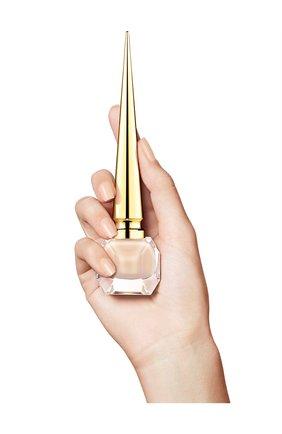 Лак для ногтей the nudes, оттенок iriclare (13ml) CHRISTIAN LOUBOUTIN бесцветного цвета, арт. 8435415035262 | Фото 2 (Ограничения доставки: flammable)