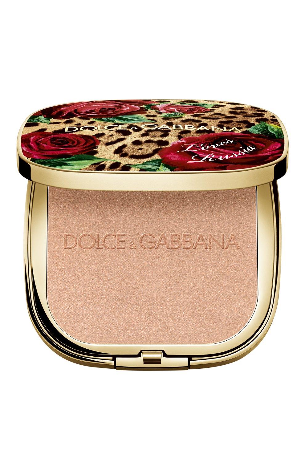 Универсальная пудра-хайлайтер dg loves russia (12g) DOLCE & GABBANA бесцветного цвета, арт. 3124350DG | Фото 1