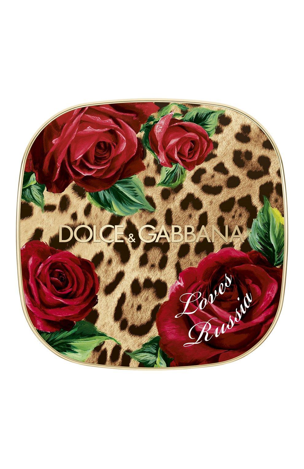 Универсальная пудра-хайлайтер dg loves russia (12g) DOLCE & GABBANA бесцветного цвета, арт. 3124350DG | Фото 2