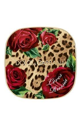 Женская универсальная пудра-хайлайтер dg loves russia DOLCE & GABBANA бесцветного цвета, арт. 3124350DG | Фото 2