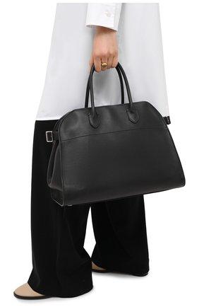Женская сумка margaux 15 air THE ROW черного цвета, арт. W1255L72 | Фото 2