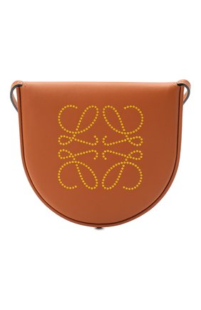 Женская сумка heel small LOEWE коричневого цвета, арт. C661T14X09   Фото 1