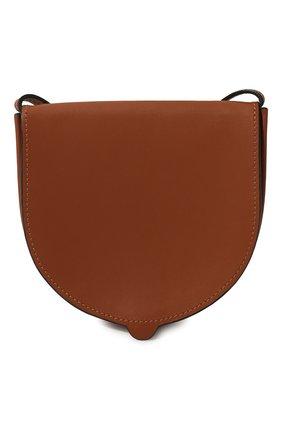 Женская сумка heel small LOEWE коричневого цвета, арт. C661T14X09   Фото 2
