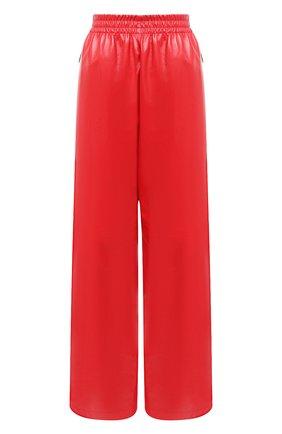 Женские кожаные брюки BOTTEGA VENETA красного цвета, арт. 633867/VKLC0 | Фото 1