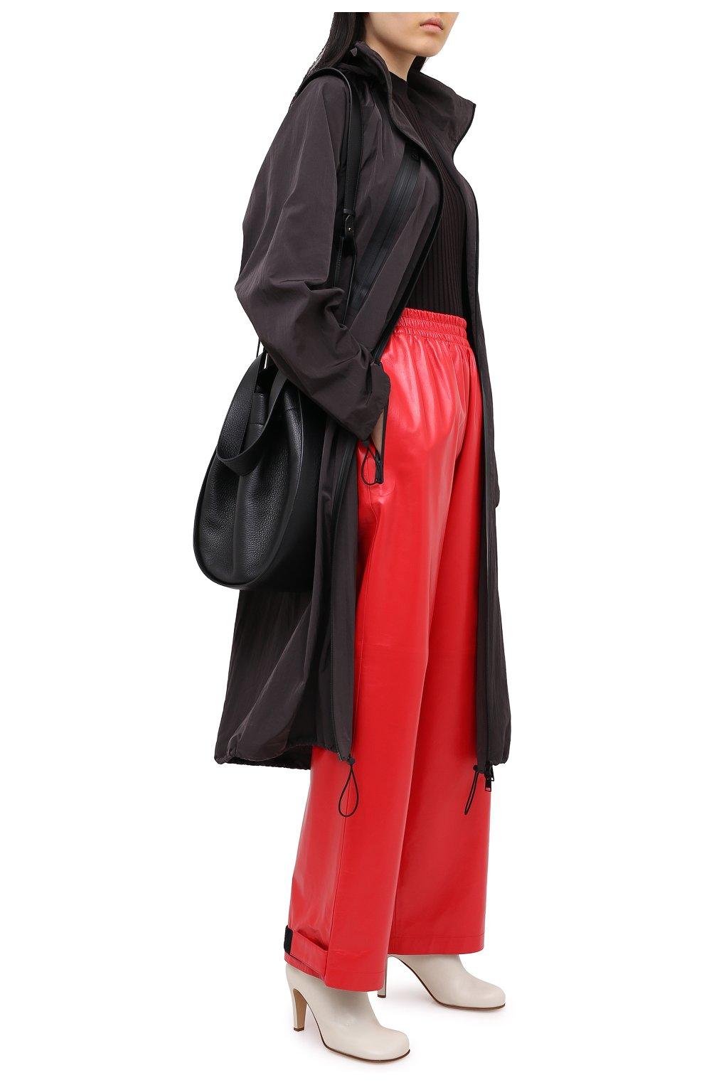 Женские кожаные ботильоны BOTTEGA VENETA кремвого цвета, арт. 578331/VBPJ0   Фото 2