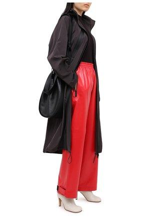 Женские кожаные ботильоны BOTTEGA VENETA кремвого цвета, арт. 578331/VBPJ0 | Фото 2