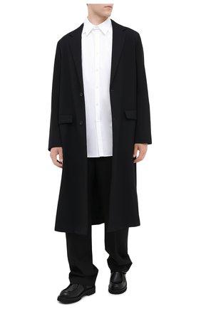 Мужская хлопковая рубашка VALENTINO белого цвета, арт. UV3ABE954WW | Фото 2