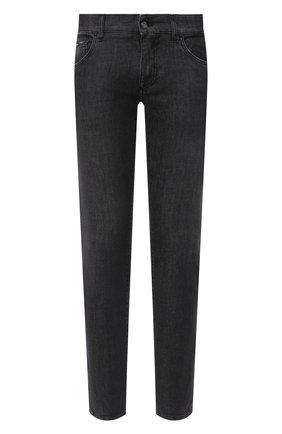 Мужские джинсы DOLCE & GABBANA темно-серого цвета, арт. IY07LD/G8DJ8 | Фото 1