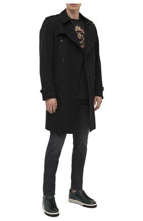 Мужские джинсы DOLCE & GABBANA темно-серого цвета, арт. IY07LD/G8DJ8 | Фото 2