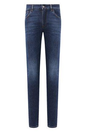 Мужские джинсы DOLCE & GABBANA синего цвета, арт. IY07CD/G8DJ9 | Фото 1