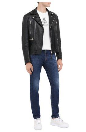 Мужские джинсы DOLCE & GABBANA синего цвета, арт. IY07CD/G8DJ9 | Фото 2