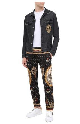 Мужская джинсовая куртка DOLCE & GABBANA темно-серого цвета, арт. I9JC2Z/G8DJ7 | Фото 2