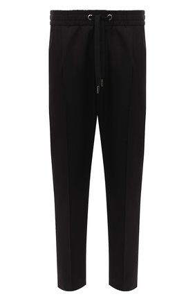 Мужской хлопковые брюки DOLCE & GABBANA черного цвета, арт. I3709Z/FUFJR | Фото 1