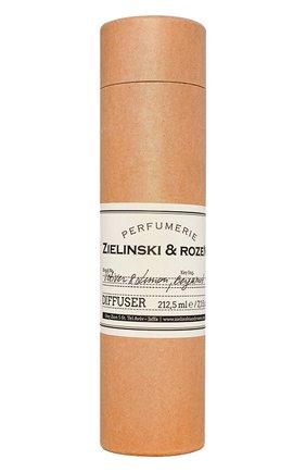 Мужской диффузор для ароматерапии vetiver & lemon, bergamot ZIELINSKI&ROZEN бесцветного цвета, арт. 4627153151678 | Фото 1