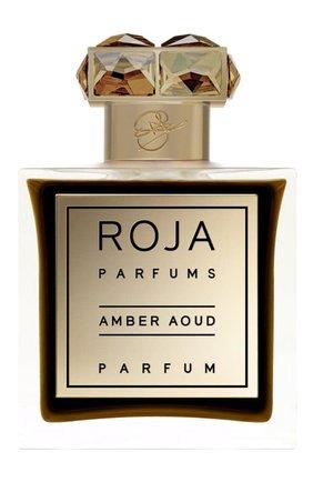 Женский духи amber aoud ROJA PARFUMS бесцветного цвета, арт. 5060270291015 | Фото 1