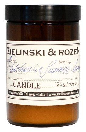 Мужская свеча patchouli & jasmine, lemon ZIELINSKI&ROZEN бесцветного цвета, арт. 4627153153214 | Фото 1
