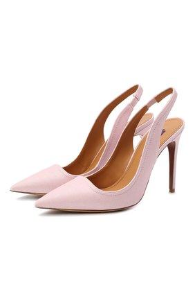 Женская текстильные туфли carley RALPH LAUREN светло-розового цвета, арт. 800803146 | Фото 1