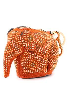 Женская кожаный футляр для ключей LOEWE разноцветного цвета, арт. 128.60.N96 | Фото 1