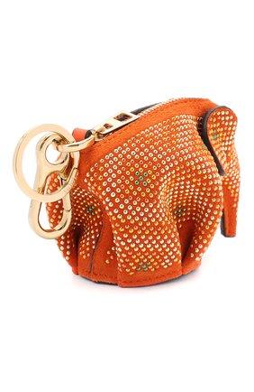 Женская кожаный футляр для ключей LOEWE разноцветного цвета, арт. 128.60.N96 | Фото 2
