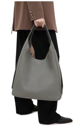 Женская сумка shoulder LORO PIANA голубого цвета, арт. FAL0099 | Фото 2