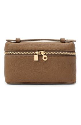 Женская поясная сумка extra pocket l16 LORO PIANA хаки цвета, арт. FAI8396   Фото 1