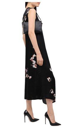 Женская кожаные туфли LE SILLA черного цвета, арт. 2101M100R1PPKAB | Фото 2