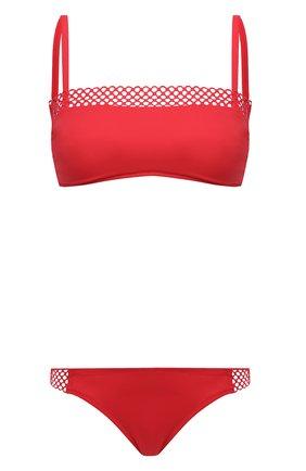 Женский раздельный купальник ANTIGEL красного цвета, арт. EBA7050-EBA0750 | Фото 1