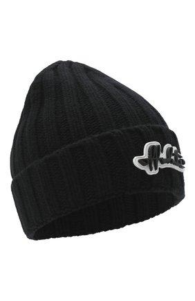 Женский шерстяная шапка OFF-WHITE черного цвета, арт. 0WLA008E20KNI0011010 | Фото 1