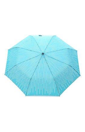 Женский складной зонт DOPPLER бирюзового цвета, арт. 7441465GL 01 | Фото 1