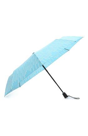 Женский складной зонт DOPPLER бирюзового цвета, арт. 7441465GL 01 | Фото 2