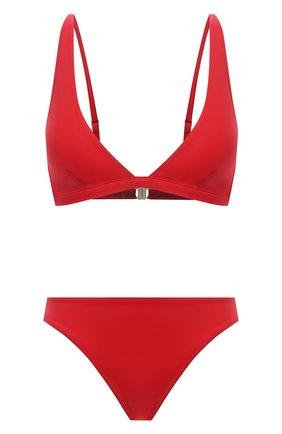 Женский раздельный купальник I.D. SARRIERI красного цвета, арт. BW15148-BW15205 | Фото 1